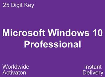 Windows 10 Professional 32/64Bit Key