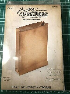 Sizzix Tim Holtz Alterations 657842 In the bag die cut