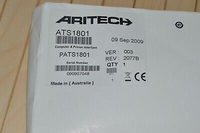 Aritech Ats1801 - Unused Old Stock !!!!
