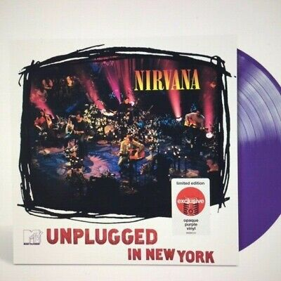 Nirvana - Mtv Unplugged In New York -  Limited Purple Vinyl Lp - Ships Free