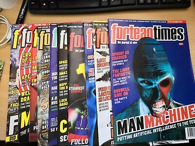 Fortean Times magazines issue 94-103 Jan 97 - Oct 97