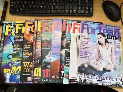 Fortean Times magazines issue 130 - 141 Jan -Dec 1999