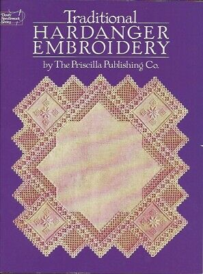 Traditional Hardanger Embroidery Book - Dover