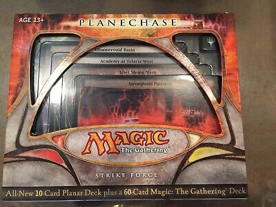 Magic the Gathering MTG Planechase 2009 Strike Force Factory Sealed Deck