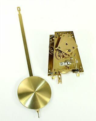 URGOS CLOCK MOVEMENT - UW 21/26 TIME ONLY with PENDULUM - WORKS GOOD - SP1164