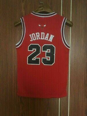 NEW Throwback Basketball Jersey YOUTH / KIDS MICHAEL JORDAN #23 Chicago Bulls