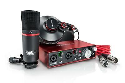 Focusrite Scarlett 2i2 Studio USB Audio Interface (2nd Gen)