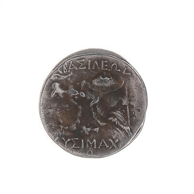 336-323 BC Silver Plated Drachm Rare Ancient Alexander III The Great Greek