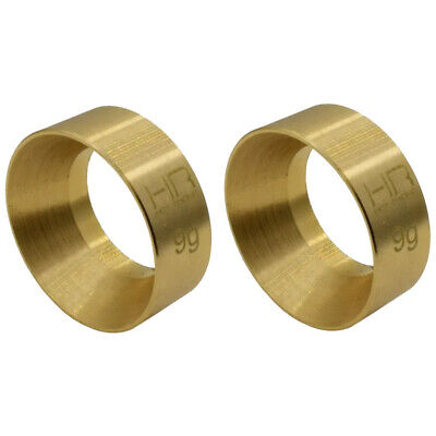 Hot Racing SXTF2612H 9g Brass Kmc Machete Wheel Weights SCX24
