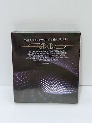 "New Tool Cd Fear Inoculum Deluxe Limited Edition Sold Out 4"" Hd Video Screen!"