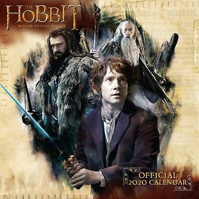 The Hobbit & Lord Of The Rings Official 2020 Square Wall Calendar by Danilo
