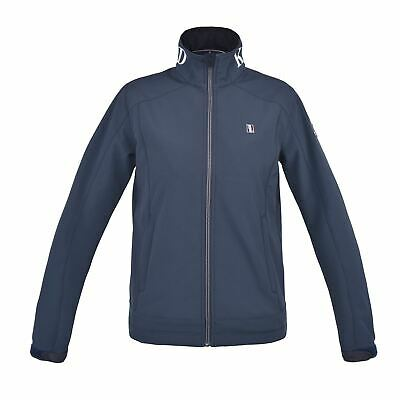 Kingsland Classic Unisex Softshell Jacket Womens Navy Outdoor Top Outerwear