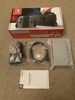 Official Nintendo Switch TV Dock, HDMI Cable, AC Adapter & Box - BRAND NEW!
