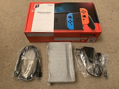 Official Nintendo Switch TV Dock, AC Adapter, HDMI Cabe & Box - BRAND NEW!