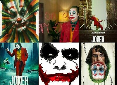 THE JOKER MOVIE POSTER  A5..A4..A3..A2. OPTIONS