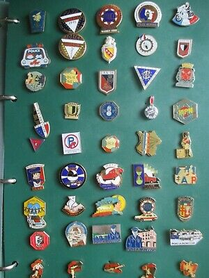 lots 45 pins POLICE ( nationale municipale amicale sportive )