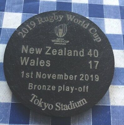 2019 Rugby World Cup New  Zealand vs Wales Bronze Play-off