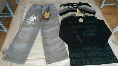 Two Outfits New Ikks Designer COLLECTOR EDITION top&knit PEWTER jeans Rrp£125.97