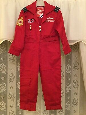 Red Arrows Kids Flying Suit With Embroidery BNIOP Official Merchandise