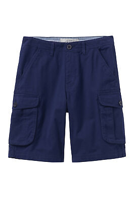New Crew Clothing Mens Cargo Short in Navy