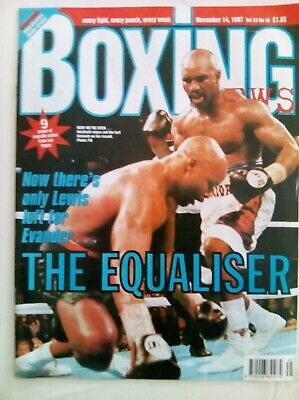 Boxing News 14 Nov  1997 - Vintage - Holyfield /Moorer - Near Mint Condition