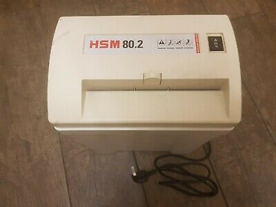 HSM 80.2 (5.8mm) Document Paper Shredder [Made in Germany]