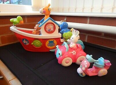Small Bundle Of Fisher Price And Elc Toys For The Young