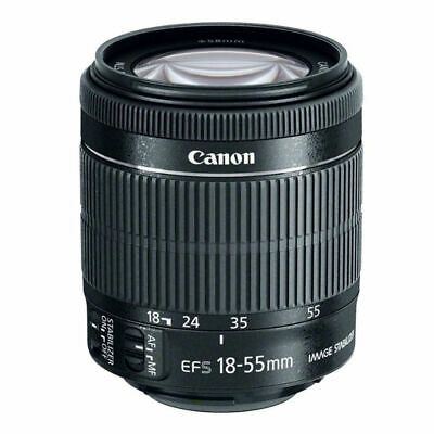 Canon EF-S 18-55mm f/3.5-5.6 IS STM Lens (White Box) for Canon EOS Rebel Series