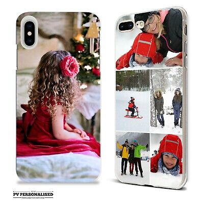 PERSONALISED ONE PHOTO COLLAGE SOFT PHONE CASE COVER FOR APPLE IPHONE XR XS Max