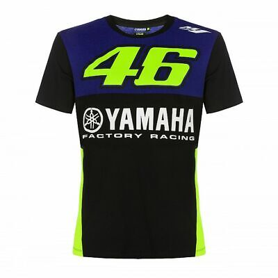 Valentino Rossi Yamaha T-Shirt VR46 MotoGP Factory Racing Team Official 2019