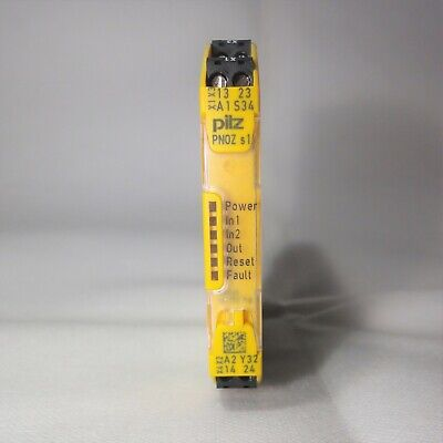 PILZ SAFETY RELAY - PNOZ sigma S1 24VDC- 750101 - 2 n/o Safety Contacts