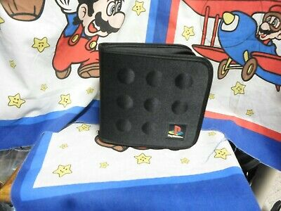 Sony Playstation 1 Game Disc Carrying Case