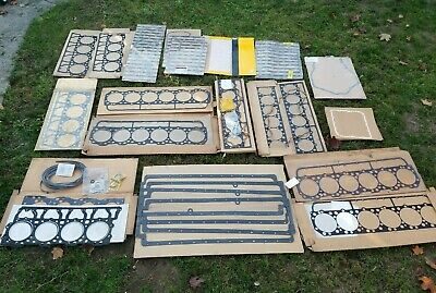 CATERPILLAR Gasket Lot Oil Pan, Head, etc. mostly 3406 & 3408 New Old Stock Shop