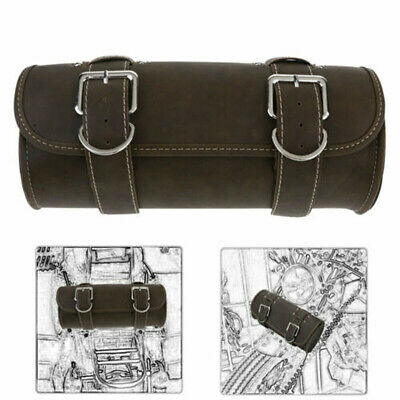 Motorcycle Bicycle Tool Bags PU Leather Handlebar Saddlebag Handle Bar Pouch New