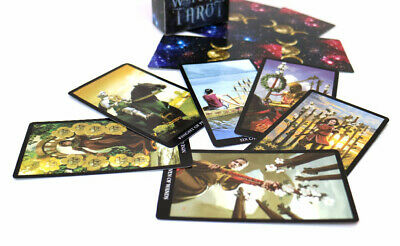 Cards Tarot Deck Game Telling Oracle 78 Set Future Fortune Magic Fate English