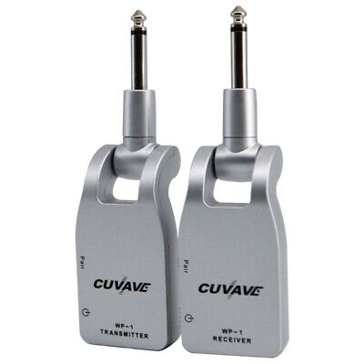 Cuvave Wp-1 2.4G Wireless Guitar System Transmitter & Receiver Built-In Rec E5U2