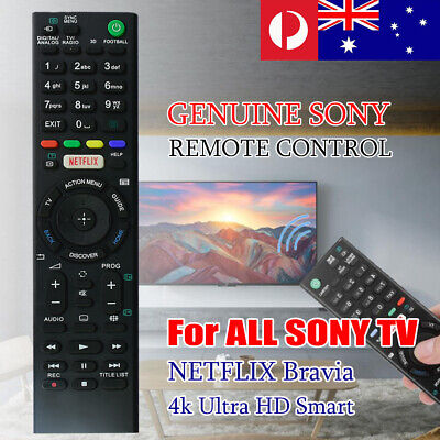 Replacement SONY TV Remote Control For All Sony Brand Smart TV NETFLIX 4K Ultra
