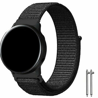 Active Band Woven Nylon Sport Loop Bracelet Watch Strap For Samsung Galaxy Watch