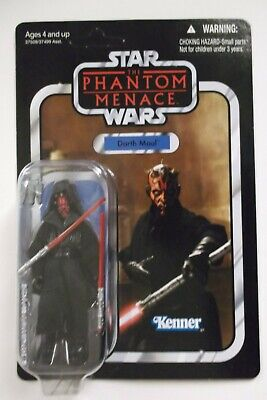 """Star Wars Vintage Collection Darth Maul figure carded 2012 3.75"""" VC 86"""