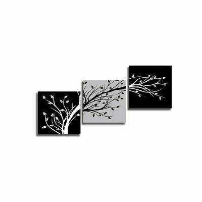 Tree Painting Wall Art Paints Modern Decorative Painting Unframed 12971 Z#