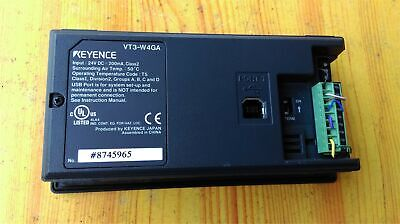 1PC USED Keyence VT3-W4GA Touch Panel Tested free shipping #YP1