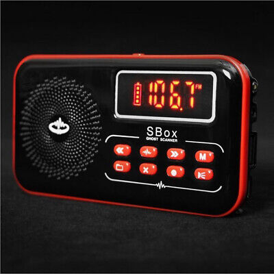 S-BOX Spirit Box FM/AM Radio Ghost Box P-SB7 PSB7 P-SB11 Ghost Hunting Equipment