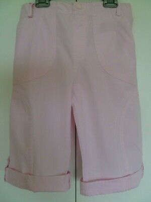 """Girls """"Girl2Girl"""" Pink Cropped Trousers Age 6 - 7 years"""