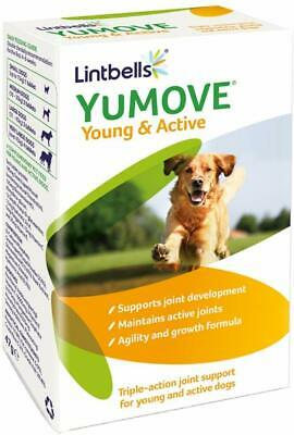 Lintbells Yumove Young And Active Dog Joint Supplements 60 Tablets