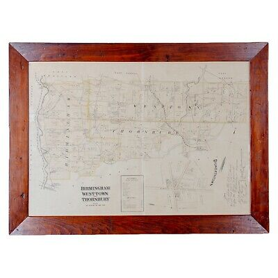 A Map of Birmingham, Westtown and Thornbury, Chester County, Pennsylvania, c1883