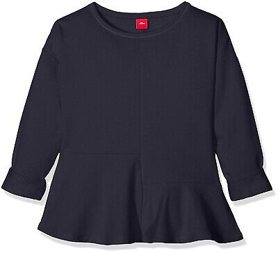 S. Oliver Girl's Navy Blue Tunic Top Sweatshirt Youth size XL Age 14-15 BNWT New