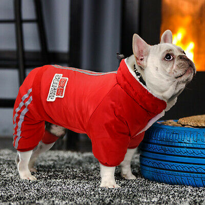 Pet Winter Clothes for Small Dogs Girl & Boy Warm Fleece Coat Jacket Jumpsuit