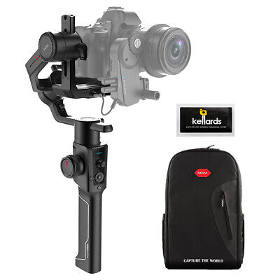 Moza Air 2 3-Axis Handheld Gimbal Stabilizer w/ Camera Backpack & Cleaning Wipe