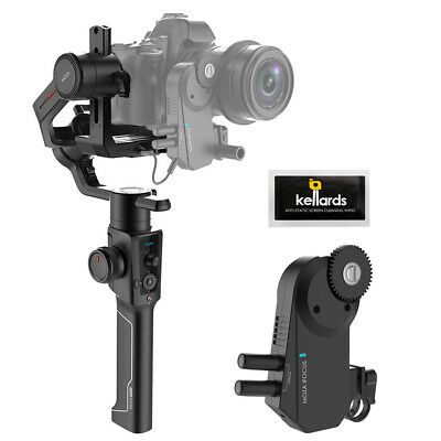 Moza Air 2 3-Axis Handheld Gimbal Stabilizer w/ iFocus Wireless Motor & Wipes