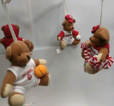 OKLAHOMA SOONERS BABY MUSIC MOBILE BEARS, BRYCE N TOYS Musical Boomer OU